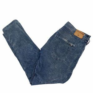 True Religion Geno Relaxed Slim Jeans Size 38